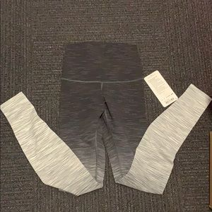 Lululemon Wunder Under HR Tight Ombre